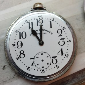 Refinished Pocket Watch Dial