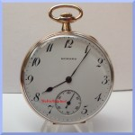 E. Howard pocket watch front picture