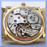 Longines 23Z Movement Dial Down Shot
