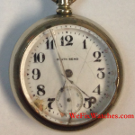 South Bend Pocket Watch With Broken